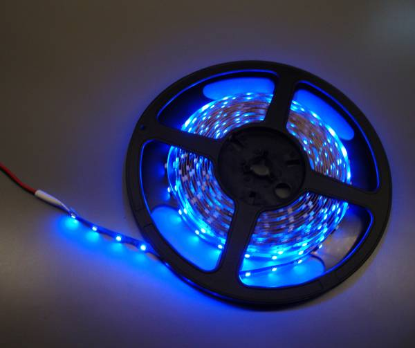 12V 5m Flexible led strip Blue